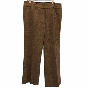 Nygard Collection wool lined wide cropped pants 12